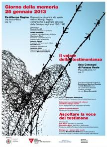 Locandina giorno memoria 2013 25 gennaio copy